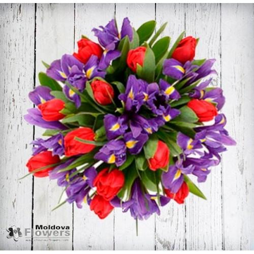 Spring flower bouquet #10