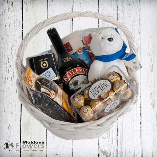 "Gift basket ""For lovely ladies"""