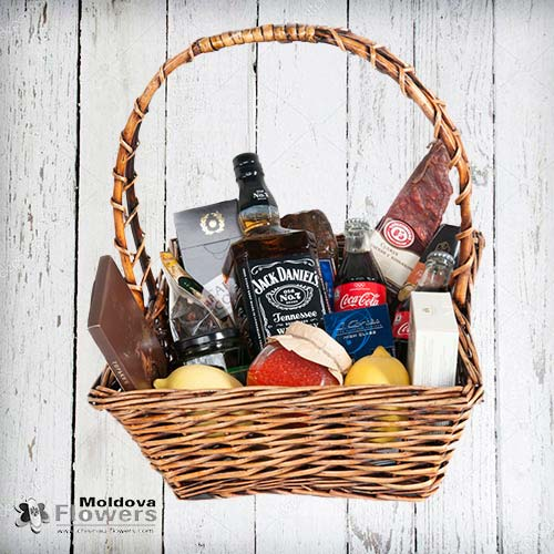 "Gift basket ""For real men"""