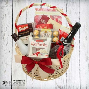 "Gift basket ""Unforgettable evening"""