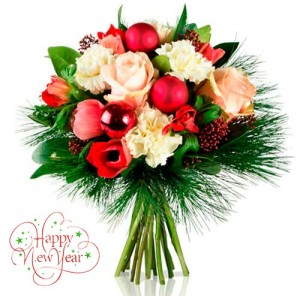 Christmas bouquet #1