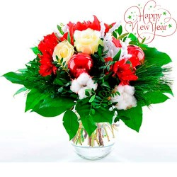 Christmas bouquet #6