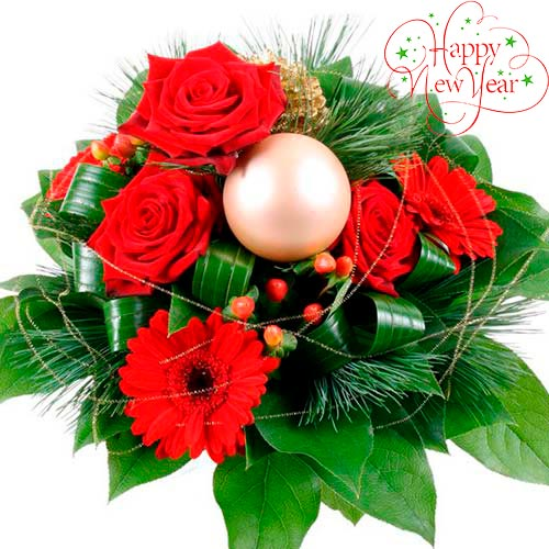 Christmas bouquet #7