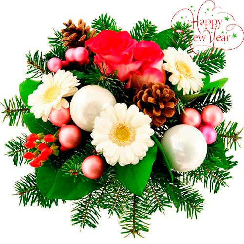 Christmas bouquet #8