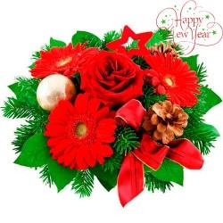 Christmas bouquet #10