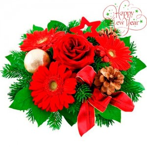 Christmas bouquet #10