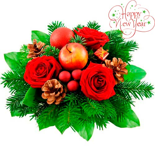 Christmas bouquet #12