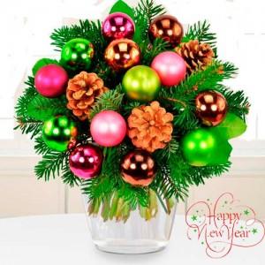 Christmas bouquet #14