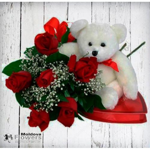 Rose bouquet #20